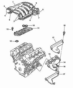 2007 Chrysler 300 Intake  U0026 Exhaust Manifold