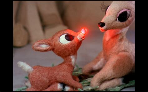 pic of the day rudolph the red nosed reindeer had a