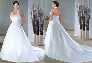 halter wedding dresses plus size With halter top wedding dresses plus size