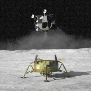 Lunar Lander Take Off Module - Pics about space