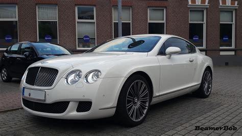 White Bentley by White Bentley Continental Gt Speed Beamerbob