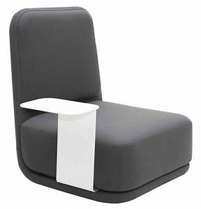 Fauteuil Haut Dossier : stanby fauteuil dossier haut avec tablette ~ Teatrodelosmanantiales.com Idées de Décoration