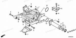 Honda Atv 2018 Oem Parts Diagram For Swingarm