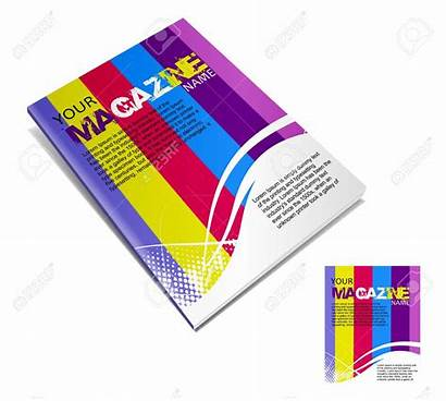 Magazine Vector Layout Clip Clipart Magazines Template