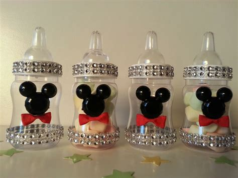 mickey mouse baby shower 12 mickey mouse fillable bottles baby shower favors prizes