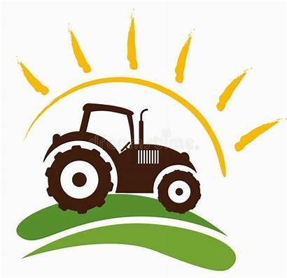 Symbol Farm Tractor Drawing Illustration Dreamstime Royalty