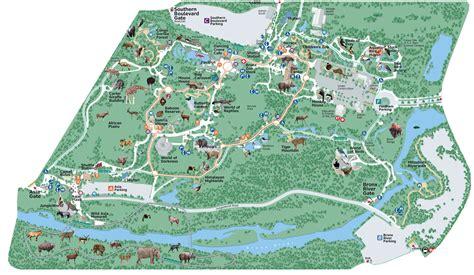 bronx zoo map york