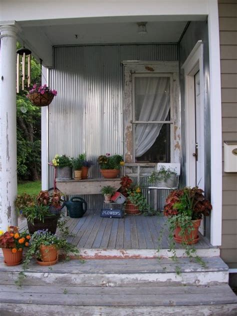 Best Decorating Country Porch Images Pinterest
