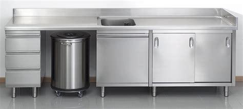 meuble inox cuisine pro meuble de cuisine professionnel en inox meuble de salon