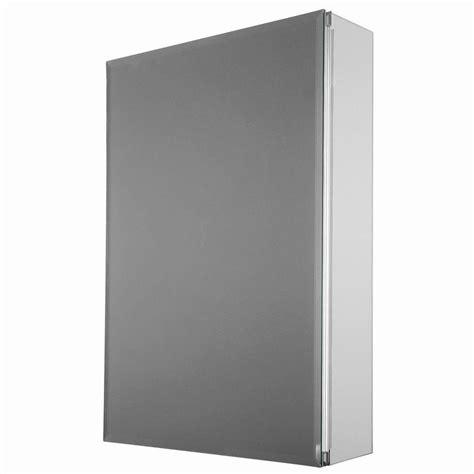 recessed mount medicine cabinet glacier bay 15 in x 26 in decor recessed or surface