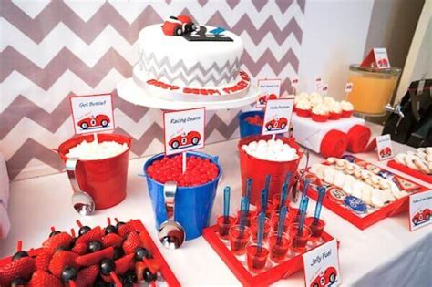 Boy's Vintage Car Themed Birthday Party  Spaceships And
