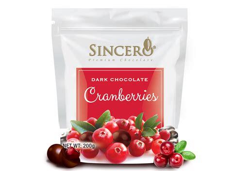 Sincero Cranberries Dark Chocolates  Hosen Chocolate