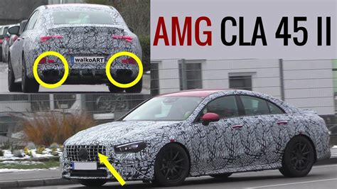 They also have customizable ambient interior lighting that includes illuminated circular air vents in the instrument. 2020 Mercedes-AMG CLA 45 Looks Sleek With Quad Exhaust ...
