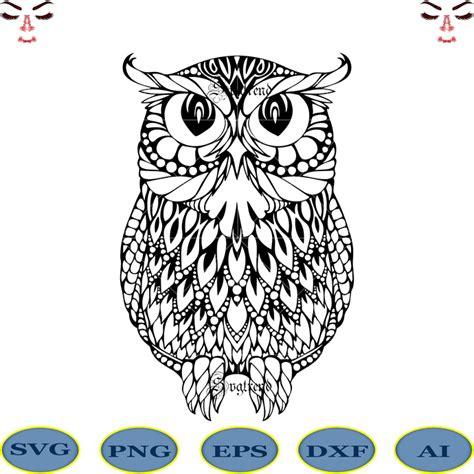 Cricut design space, sure cuts a lot, make the cut!, inkscape, coreldraw, adobe. Owl Mandala Svg, Owl Mandala vector, Owl Svg, Owl logo ...