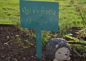 Décoration D Extérieur : etiquettes de jardin avec message planter chez ksl living ~ Dode.kayakingforconservation.com Idées de Décoration