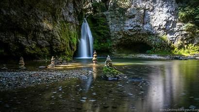 Zen 4k Garden Wallpapers Waterfalls Desktop Background