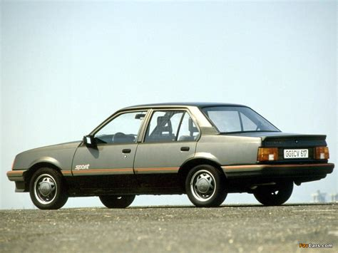 Pictures of Opel Ascona Sport (C1) 1984 (1024x768)