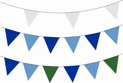 Banner Flag Clipart Clip Flags Bunting Pennant