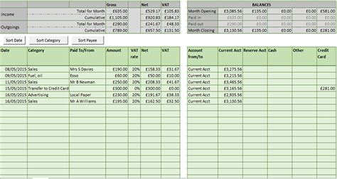 Record Template In Excel by Record Keeping Spreadsheet Templates Bookkeeping