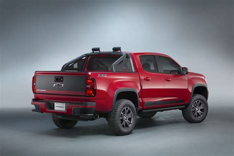 2018 Chevrolet Colorado Trail Boss 30 Sema Gm Authority