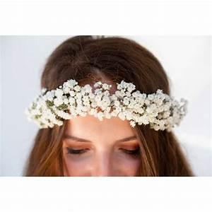 Couronne Fleur Cheveux Mariage : couronne de fleurs pour cheveux fleurs mariage my wedding box ~ Melissatoandfro.com Idées de Décoration