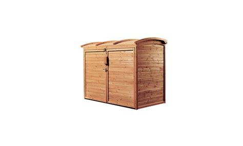 garbage bin storage shed garden hacks 10 genius ideas to hide trash cans gardenista
