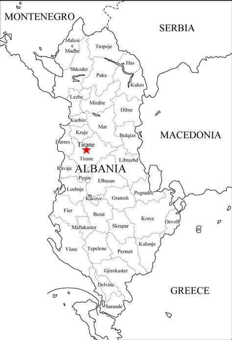 albanien landkarten kostenlos cliparts kostenlos