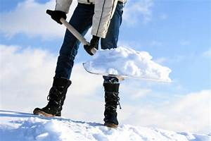 Manual Snow Removal Stock Photo - Download Image Now