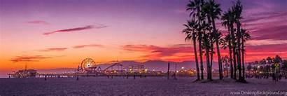 Header Beach Santa Monica Angeles Los Wallpapers