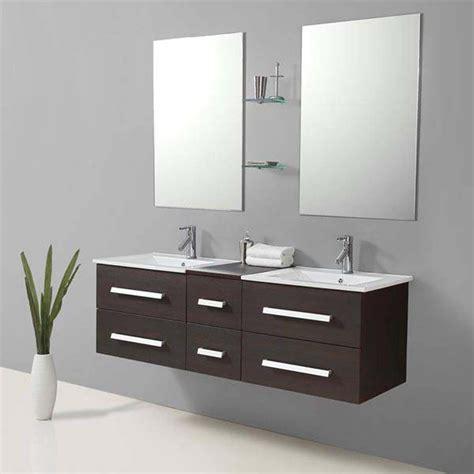 salle de bain meuble riviera2 wenge meuble salle de bain contemporain 150x48 wenge
