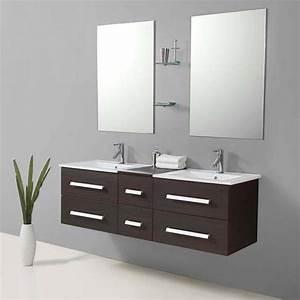 Salle De Bain Meuble : salle de bain meuble riviera2 wenge meuble salle de ~ Dailycaller-alerts.com Idées de Décoration
