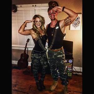 #halloween gi Joe and gi Jane costume   Halloween ...
