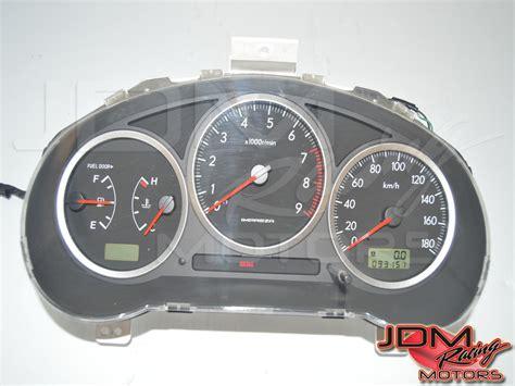 motor repair manual 1994 subaru impreza instrument cluster id 4071 jdm steering wheels gauge clusters other interior components subaru jdm engines