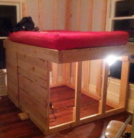 diy elevated bed frame  storage underneathjpg