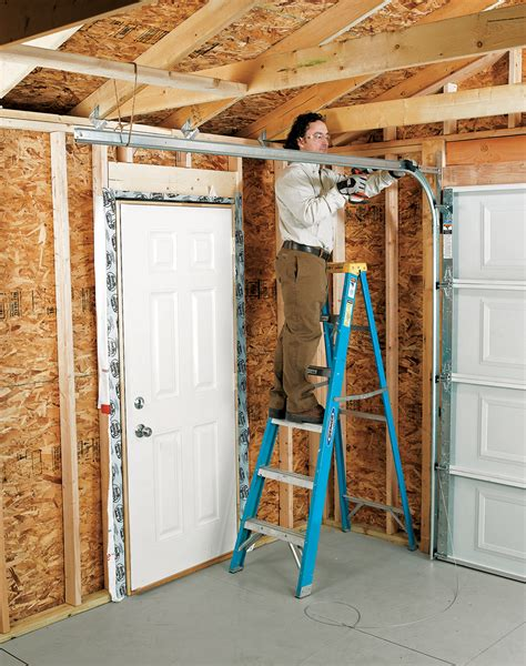 Installing An Overhead Garage Door