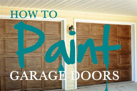 how to paint a garage door the linley house how to paint garage doors