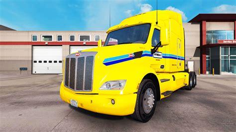 Skin Penske Truck Rental Truck Peterbilt For American