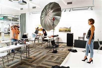 Studio Behind Scenes Photoshoot Boutique Camera Space