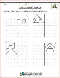 symmetry worksheets  symmetry  symmetry worksheets