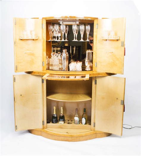 cabinet kitchen modern regent antiques cabinets antique deco birdseye 1925