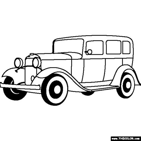 ford model t coloring pages