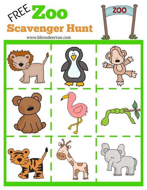 printable zoo scavenger hunt zoo scavenger hunt 995 | 154a5f34a2a05f103c8781b31638ed5a