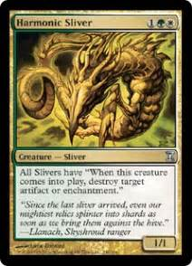 harmonic sliver time spiral magic the gathering cards cardshark