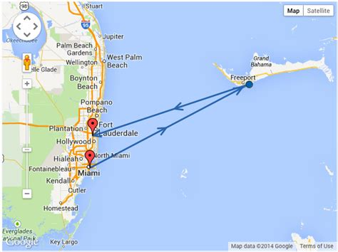 Boat Ride Miami To Bahamas bahamas day trip from miami