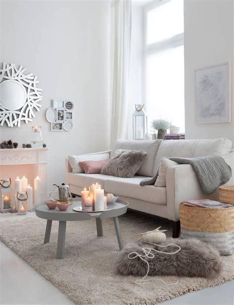 Gemutlich Le Wohnzimmer by Inspiration D 233 Co Pour Le Salon D 233 Coration Blanche Hygge