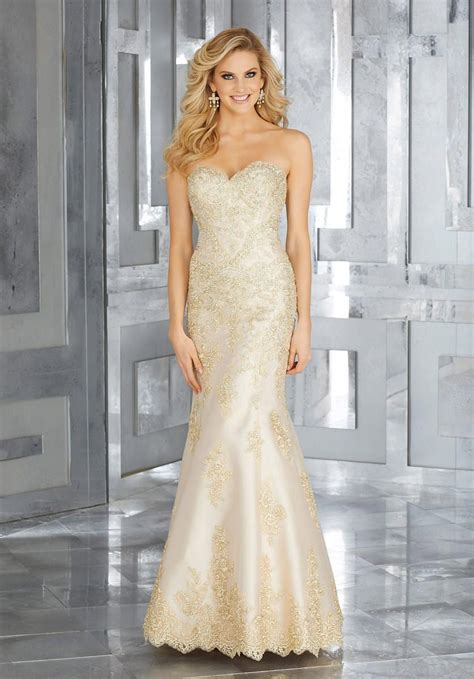 mgny  morilee  mothers gown  beaded lace