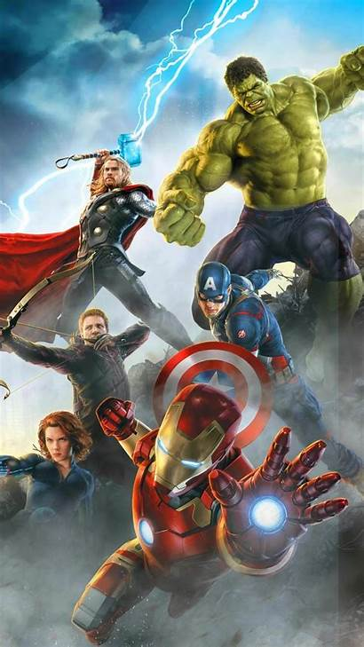 Avengers Iphone Wallpapers Marvel Ultron Age Heroes