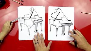 how to draw a grand piano for hub