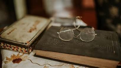 Glasses Antiguos 4k Reading 1080p Libro Resting