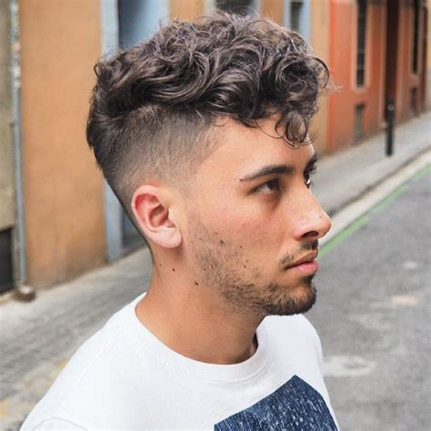 mens hairstyles curly undercut hairstyle ideas  men